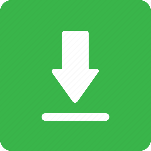 down arrow, download, guardar, manager, save icon