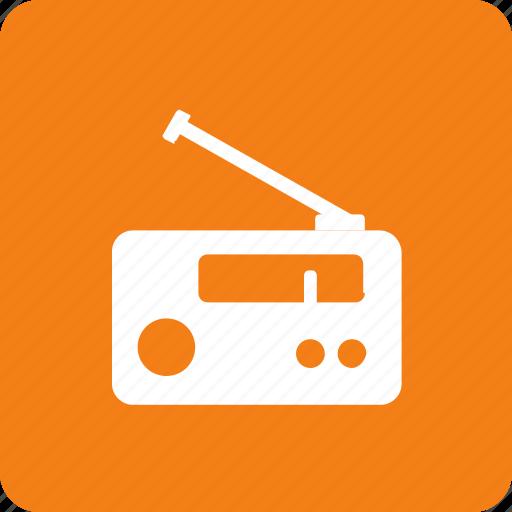 broadcast, fm, music, radio, song icon