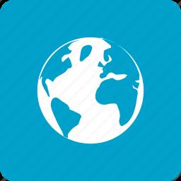 browser, glob, internet, web icon