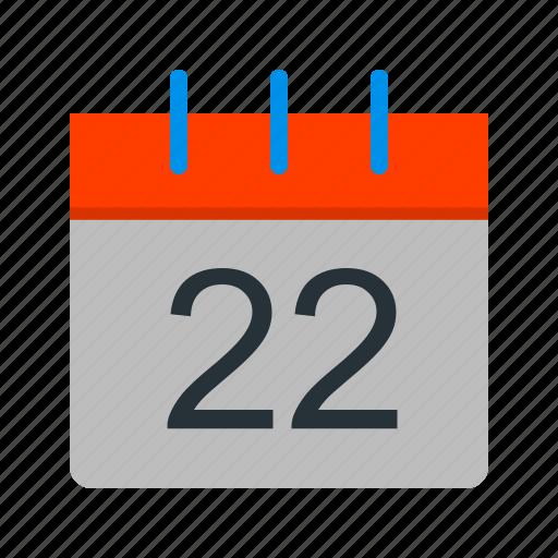 calendar, day, event, note, organizer, plan, planner icon