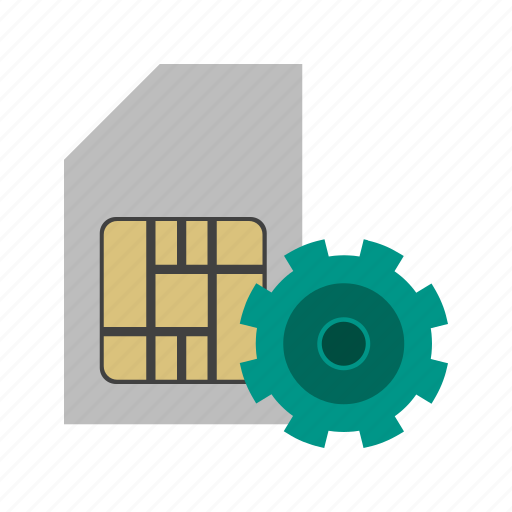 card, communication, connection, mobile, sim, simcard icon