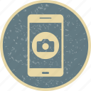 app, camera, mobile, phone icon