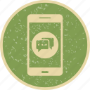 app, conversation, mobile, phone icon