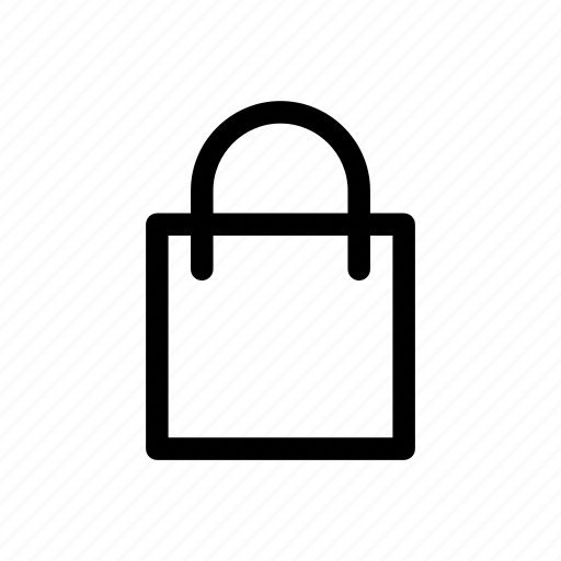 my item, my purchase, shopping, shopping bag icon