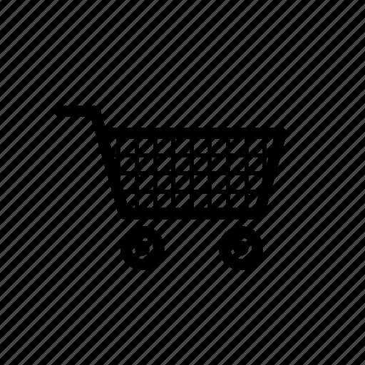 ecommerce, my purchase, shopping cart icon