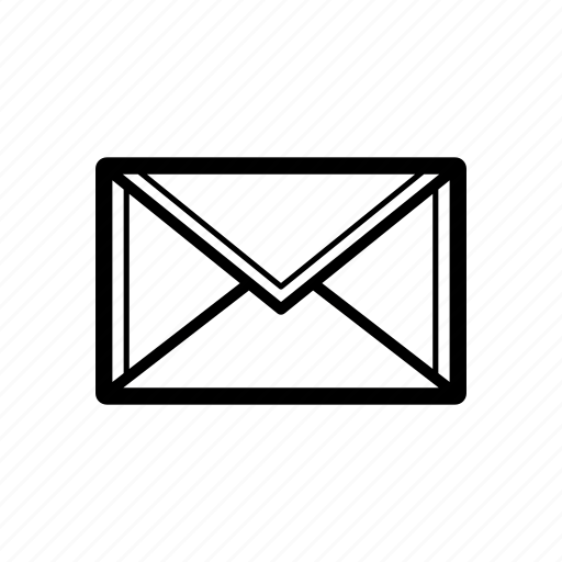 email, inbox, mail icon