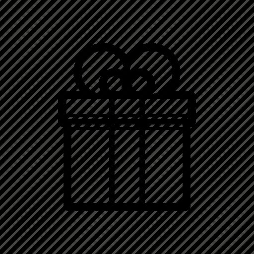 award, gift, gift box, reward icon