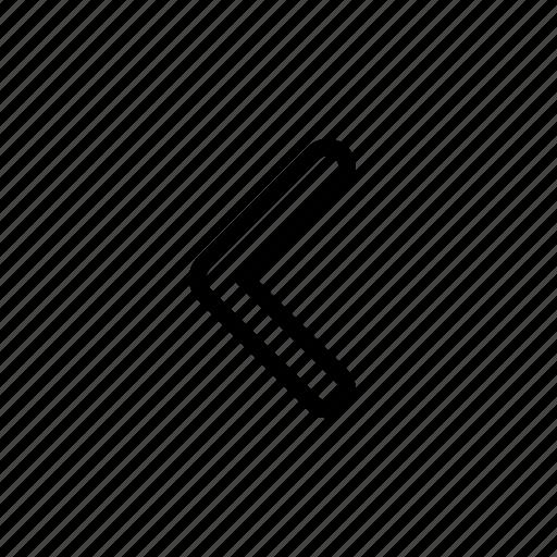 arrow, back, cancel, left icon
