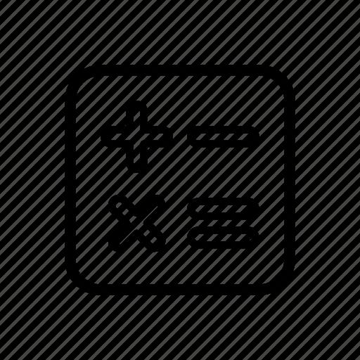 app, calculator, converter icon