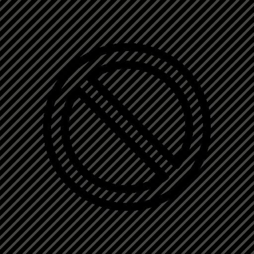 cancel, delete, stop icon
