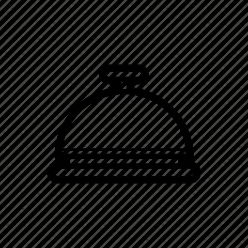 bell, desk, reception icon