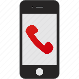 dismiss, hang up icon