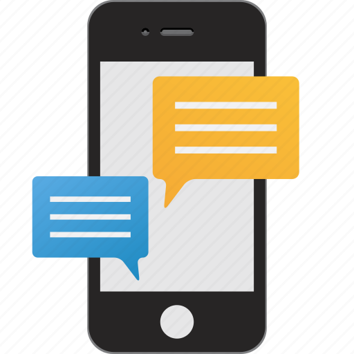 chat, chatting, communication, message, messaging, mobile, texting icon