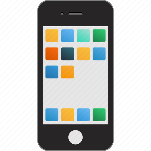 apple, cell, cellphone, cellular phone, device, mobile, phone, smartphone icon