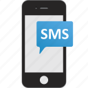 text message, sms, texting, chat icon