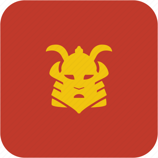 fight, japan, mask, ronin, soldier icon