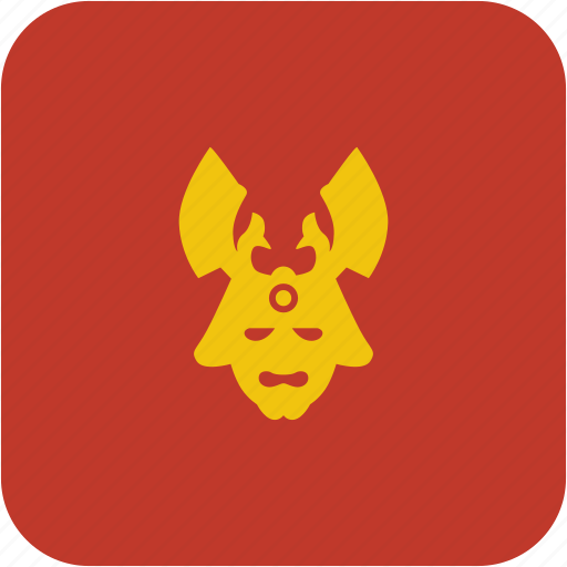 avatar, mask, ronin, soldier icon