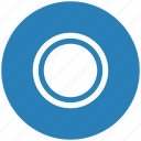 blue, chart, diagramm, economic, full, pie, round icon