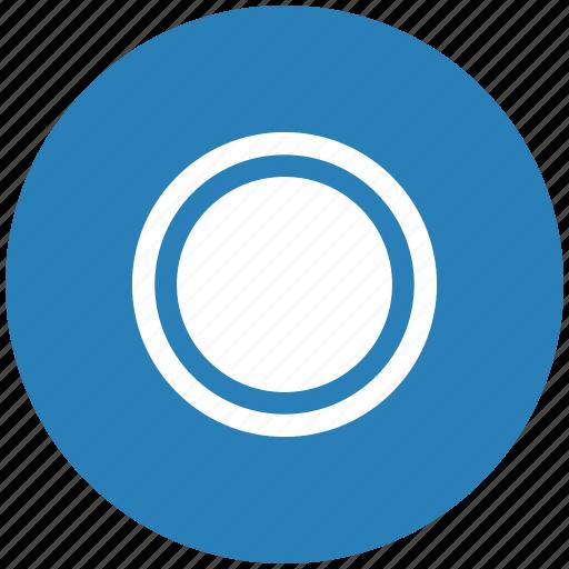 blue, chart, diagramm, economic, full, pie, round icon