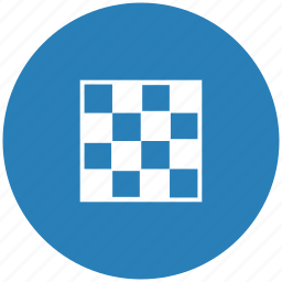 app, blue, chess, game, round icon