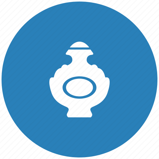 aroma, blue, bottle, lady, parfume, round icon