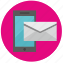 mail, mailbox, message, mobile, news, service icon