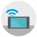 access, device, free, internet, mobile, phone, wifi icon