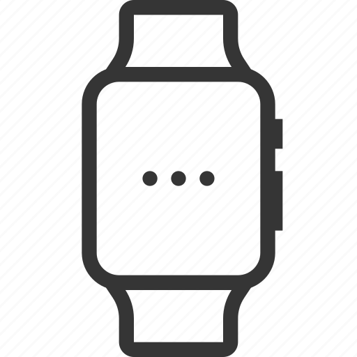 device, electronic, gadget, mobile, smart, watch, wireless icon