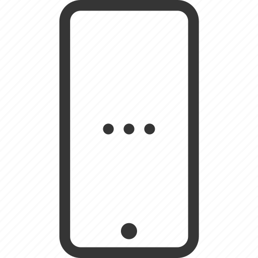 cellphone, device, electronic, gadget, mobile, phone, smartphone icon