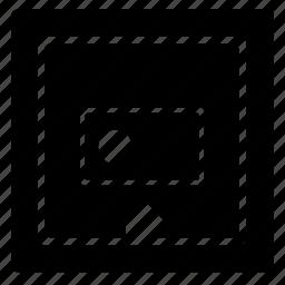chip, chipset, cpu, label, marque, rfid, square icon