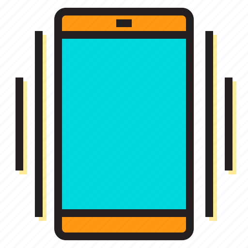alert, cell, danger, error, notification, smart, vibrate icon
