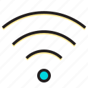 modem, off, on, router, switch, wirless icon