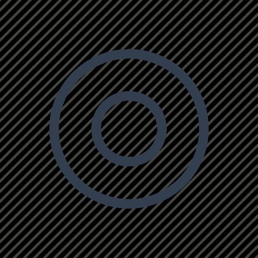 circles, goal, tagret, target icon