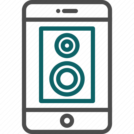 dj, loud, loudspeaker, music, party, speaker icon