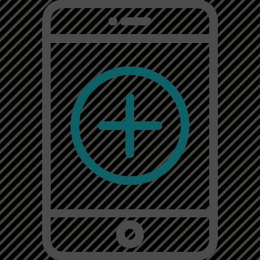 add, addition, create, new icon