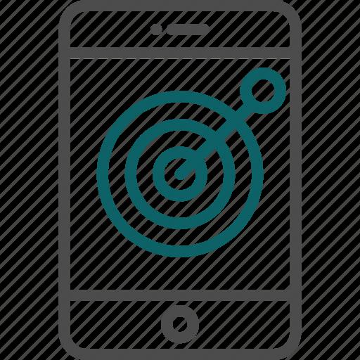 achievement, arrow, goal, success, target icon