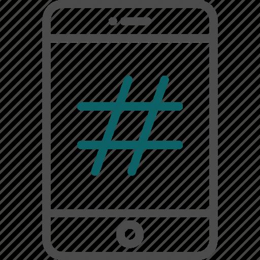 hashtag, social, social media, tag, twitter icon