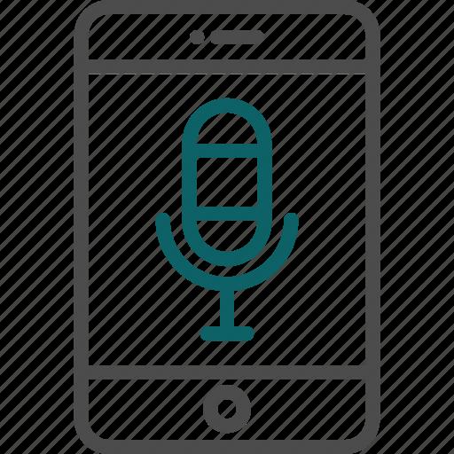 audio, mic, microphone, recording, sing icon