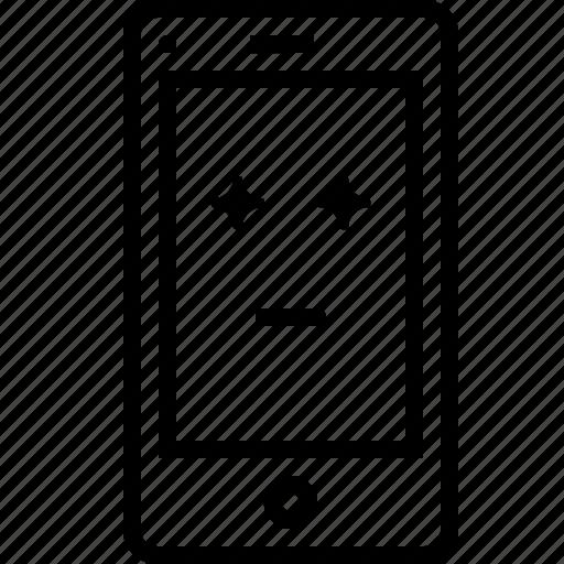 design, emoji, favorite, mobilelayout, page, smiley, star icon