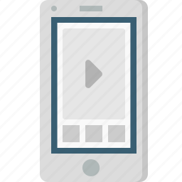 design, layout, mobile, page, video, web, youtube icon