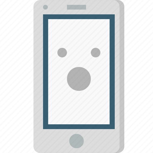 Amazed, application, browser, emoji, mobile, sign, smiley icon - Download on Iconfinder