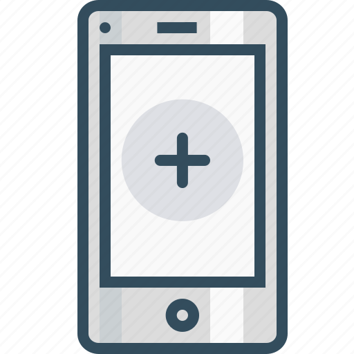 add, app, application, insert, mobilelayout, mobilepage, sign icon