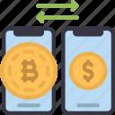 bitcoin, trading, cell, iphone, device, trade, crypto