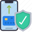 credit, card, protection, cell, iphone, device icon