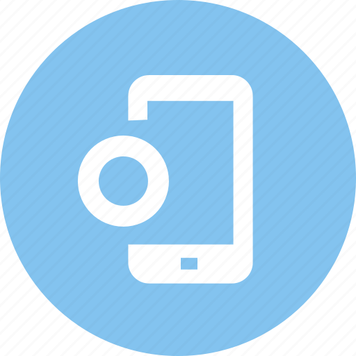 click, display, mobile, monitor, phone, screen, touch icon