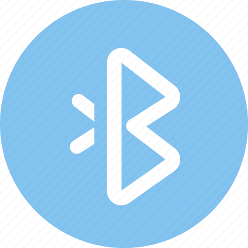 bluetooth, communication, connection, datas, wireless icon