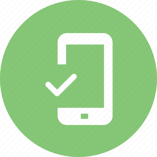 check mobile, compatibility, hd, mobile compatibility, resolutions, screen, system compatibility icon