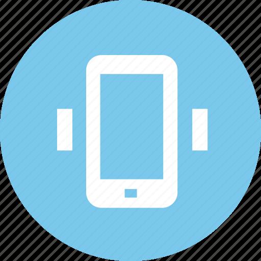 mobile, shake, shock icon