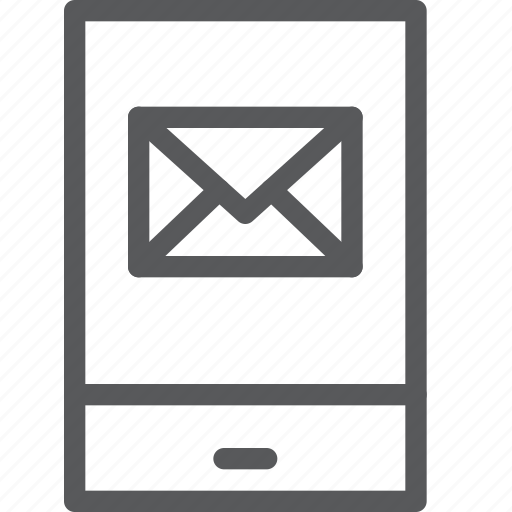 call, communication, device, email, mobile, phone, portrait, smartphone icon