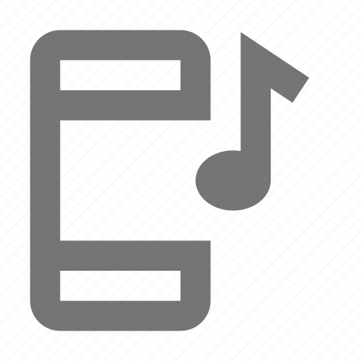 audio, device, gadget, mobile, music, phone, smartphone, touchscreen icon